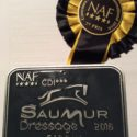 Saumur NAF CDI*** dag 3: Zaniro in de prijzen Inter I 67,89%