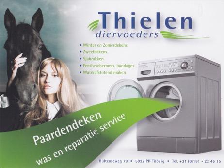 Tip: Paardendekens was- en reparatieservice Thielen Diervoeders